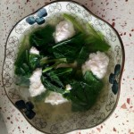 珍珠翡翠鱼丸汤