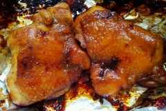 蜜汁烤鸡腿