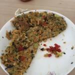 香煎杂蔬饼