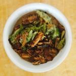 红烧带鱼炖圆白菜