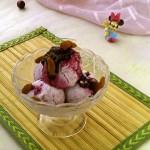炼奶蓝莓冰激凌#七彩七夕#