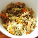五花肉萝卜饭--参考泉州萝卜饭做的