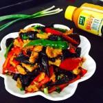 黑木耳炒肉#太太乐鲜鸡汁中式#