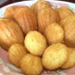 柠香玛德琳蛋糕#下午茶时光#