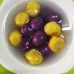 紫薯汤圆 红薯汤圆