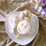 黄桃雪糕的制作方法