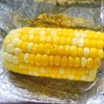 烤黄油玉米