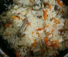 新疆羊肉抓饭(非正宗)