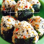 三文鱼彩蔬三角饭团(宝宝辅食)