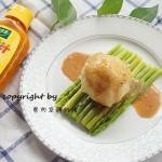 黑胡椒鸡汁芦笋土豆泥#太太乐鲜鸡汁西式#