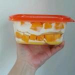 盒子芒果千层蛋糕