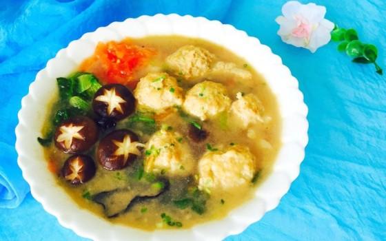 香菇肉丸子汤
