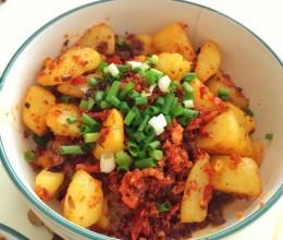 渣海椒土豆