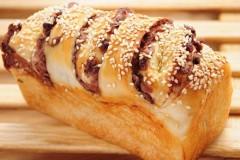 红豆吐司面包
