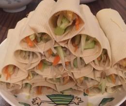 美味蔬菜卷