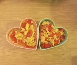 西红柿鸡蛋面#我要上首页#