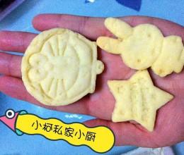卡通奶香饼干