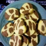 巧克力味饼干~大理石曲奇