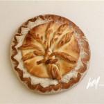 麦穗装饰面包