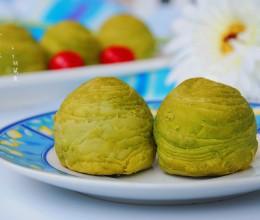 抹茶酥——植物油版