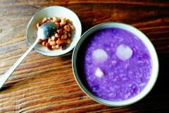 脱脂美食|淮山紫薯粥