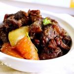 胡萝卜土豆烧牛腩#宴客拿手菜#