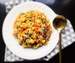 藜麦杂蔬炒饭(健康饮食)