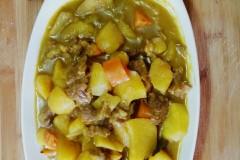 咖喱土豆牛肉