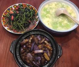 茄子煲(肉末茄子煲/鱼香茄子煲)