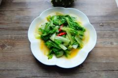 辣炒小白菜