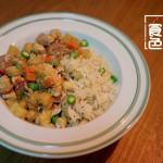 青咖喱椰浆饭