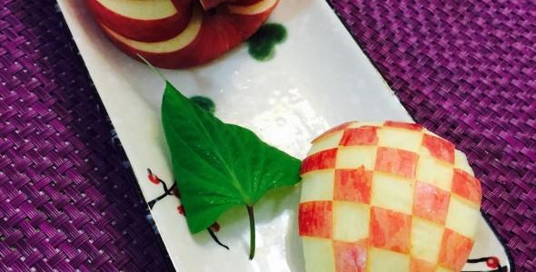 天鹅苹果教程 水果拼盘