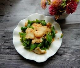 菜椒炒鱼片