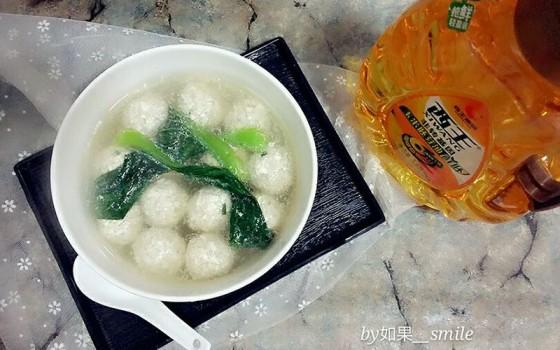 豆腐丸子汤#西王领鲜好滋味#