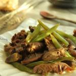 鸡胗拌豆角#西王领鲜好滋味#