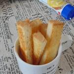 黄油奶香吐司脆条