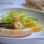 幼儿食谱:鸡肉玉米肠