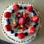 奶油水果蛋糕