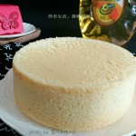 戚风蛋糕+#西王领鲜好滋味#