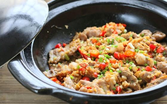 砂鍋羊肉粉絲煲