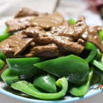 青椒炒豬肝