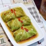 圆白菜香菇肉卷#西王领鲜好滋味#