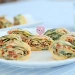 蔬菜奶酪蛋卷 宝宝辅食微课堂