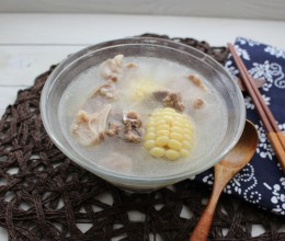 高压锅炖排骨玉米