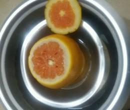 盐蒸橙子治咳嗽