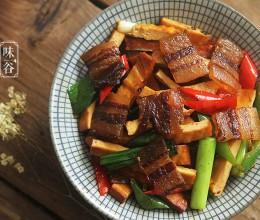 腊肉怎么做好吃-豆干炒腊肉