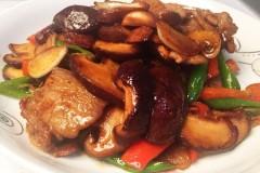 香菇五花肉片