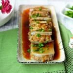芋头肉夹:奉化芋头和荔浦芋头