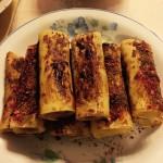鲜虾蔬菜卷