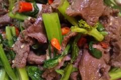小米椒炒牛肉